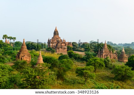 Another view from Bagan in Myanmar
