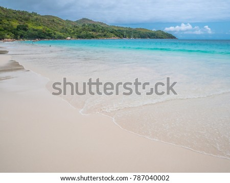 Anse Lazio, Praslin Island, Seychelles, Africa, taken on Wednesday, 12 July 2017