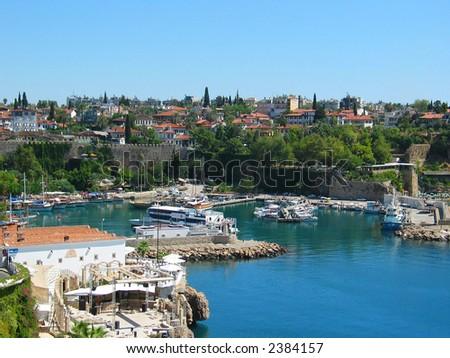 Antalya Old Town - stock photo