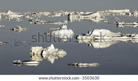 Antarctic fantasy - stock photo