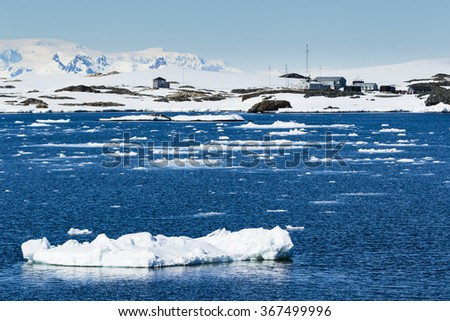 Antarctic Ice and Snow
