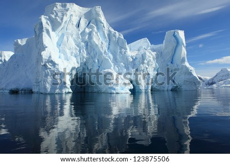Antarctic Peninsula - stock photo