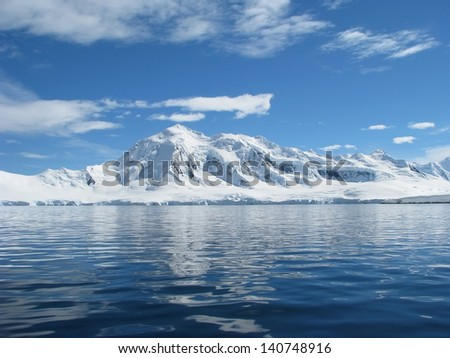 Antarctica - stock photo