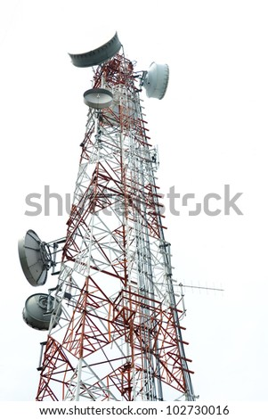 Antenna Tower of Communication