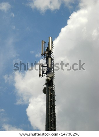 Antennas for telecommunications mobile in the sky
