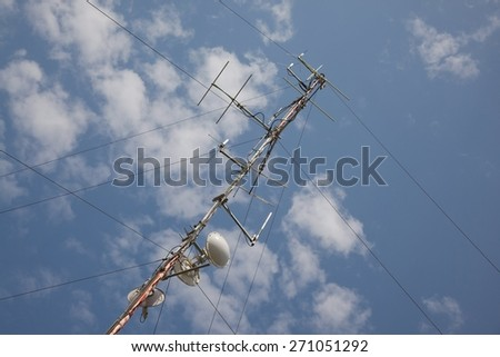 Antennas to the sky