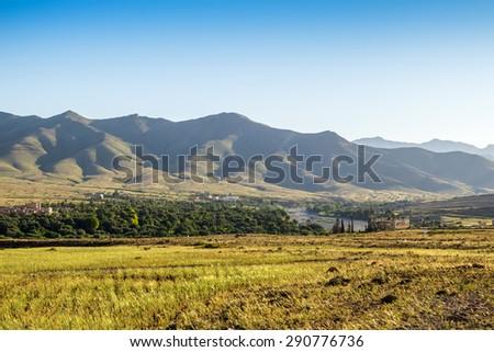 Anti-Atlas mountains, Morocco - stock photo
