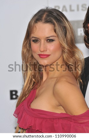 ANTIBES, FRANCE - MAY 21, 2009: Lola Ponce at amfAR's Cinema Against AIDS Gala at the Hotel du Cap d'Antibes. May 21, 2009  Antibes, France