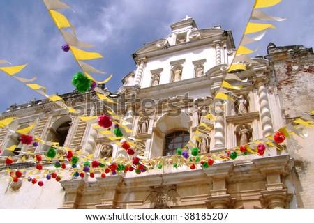 Antigua Guatemala, San Francisco Church - stock photo