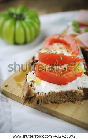 Antipasti - stock photo