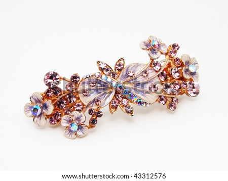 Antique Brooch - stock photo
