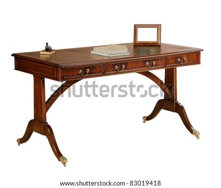 Antique Desk - stock photo