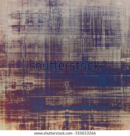 Antique grunge background with space for text or image. With different color patterns: yellow (beige); brown; gray; purple (violet) - stock photo