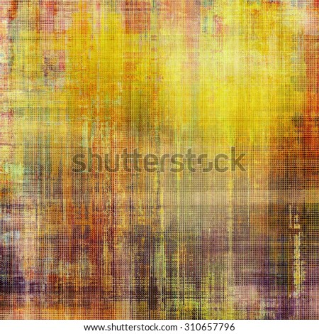 Antique grunge background with space for text or image. With different color patterns: yellow (beige); brown; red (orange); purple (violet) - stock photo