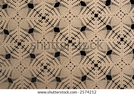 Antique handmade lace