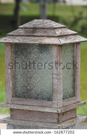 antique lamps - stock photo