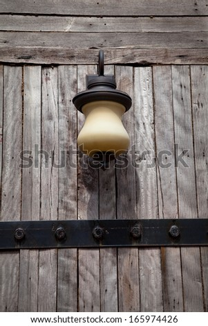 antique lamps. - stock photo