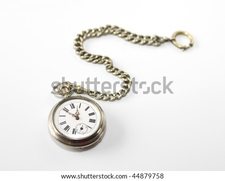 Antique pocket watch from 19th century