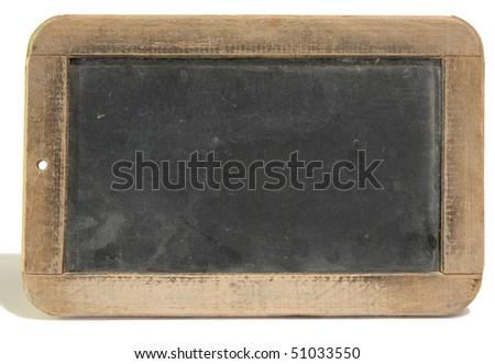 Antique slate - stock photo