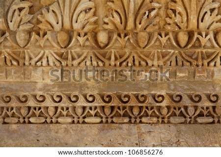 Antique stone pattern