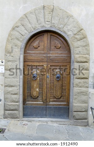 Antique Tuscany Door 33. See more like this in my portfolio
