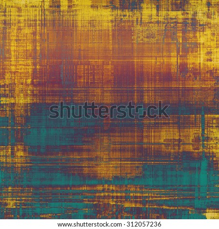 Antique vintage background. With different color patterns: yellow (beige); brown; blue; purple (violet) - stock photo