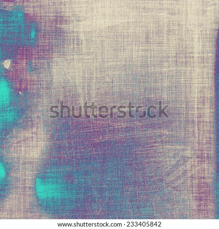 Antique vintage textured background. With different color patterns: gray; blue; purple (violet) - stock photo