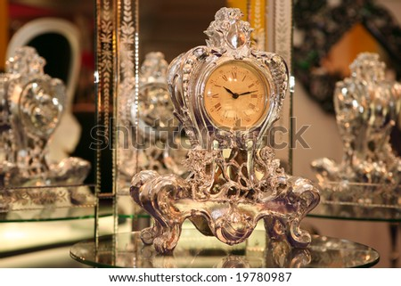 Antique watch - stock photo