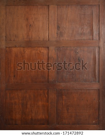 Antique wooden background. - stock photo