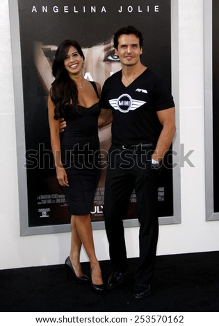 """Antonio Sabato Jr. at the Los Angeles Premiere of """"Salt"""" held at the Grauman's Chinese Theater in Los Angeles, California, United States on July 19, 2010.  - stock photo"""