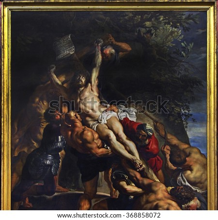 the raising of the cross by peter paul rubens Rubens is perhaps one of the greatest artists of all time we spoke a little bit of rubens before in my book review of master of shadows: the secret diplomatic life of peter paul rubens.