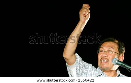 anwar ibrahim speech stock photo 2550422 shutterstock