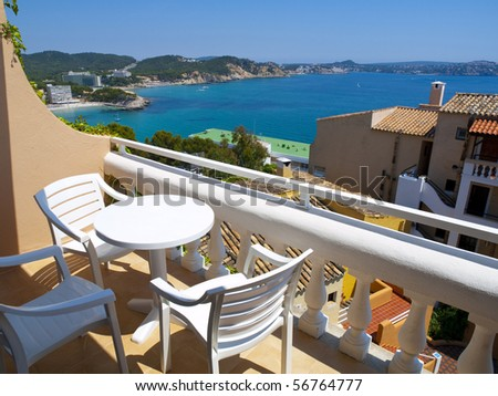 Apartmen Balcony in Mallorca, Spain