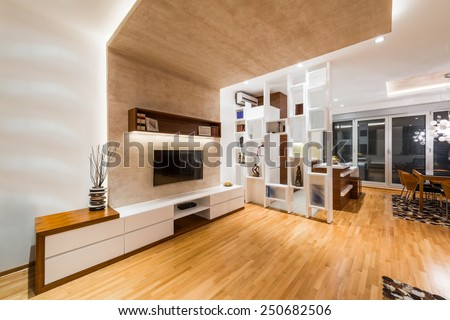 Apartment interior - stock photo