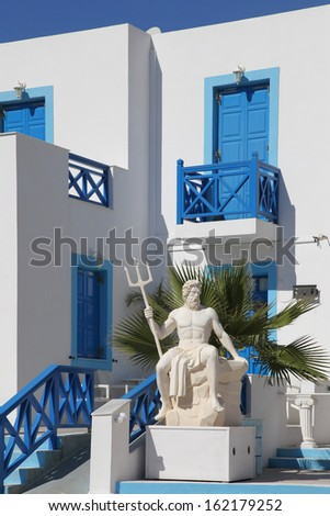apartments on the island of Karpathos, Greece