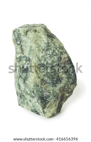 Apatite nepheline ore, raw material for production of fertilizers - stock photo