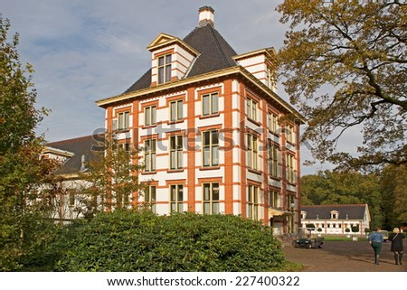 Apeldoorn, Netherlands - October 31, 2014: Het Loo Palace in Apeldoorn. - stock photo