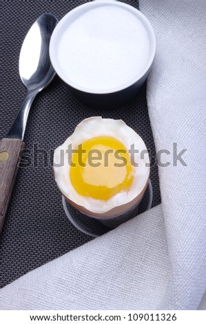 aperitif in the ceramic plates on a white background ,