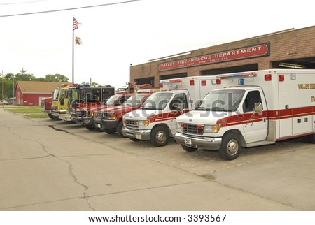 apparatus at the ready - stock photo