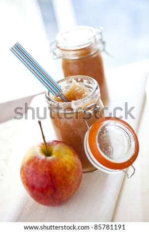 Apple JAM - stock photo