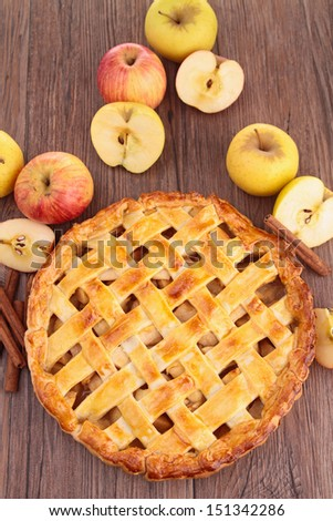 apple pie - stock photo