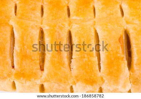 Apple pie texture - stock photo