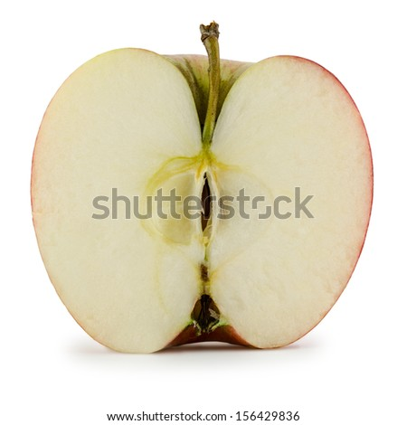 apple red - stock photo