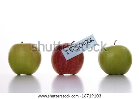 Apples for the best entry in a new school year