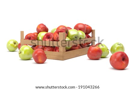 apples in a box