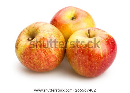 apples isolated - stock photo