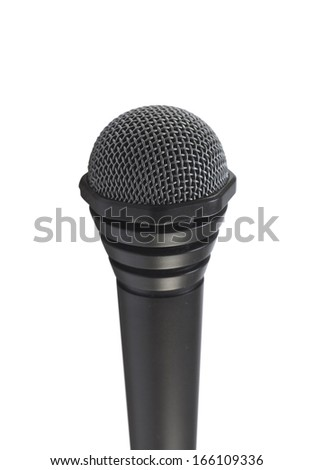 Appliance microphone - stock photo