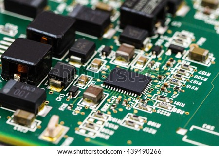 Application Specific Integrated Circuit, ICs, chip capacitors, a