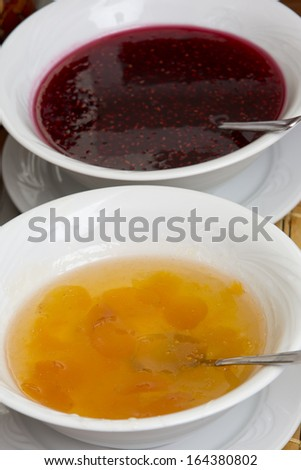 Apricot and Raspberry Jam