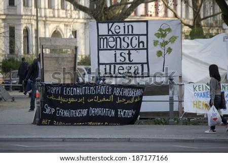 Flüchtlingslager in berlin